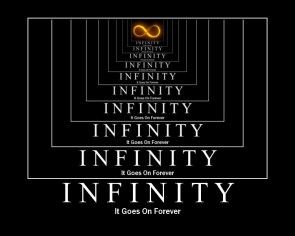 Infinity Motivational Poster