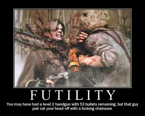 Futility Motivational Poster