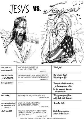 Jesus Vs Jeezus