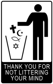 Thank You For Not Littering Your Mind
