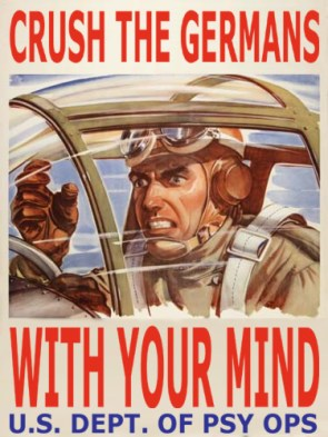 U.S. Department of Psy Ops War Poster