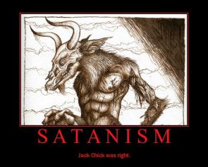 Satanism Motivational Poster