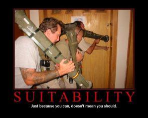 Suitability Motivational Poster
