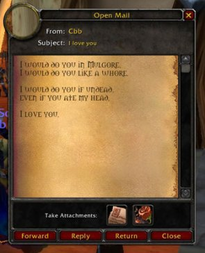 World Of Warcraft Geek Love