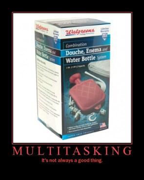 Multitasking Motivational Poster