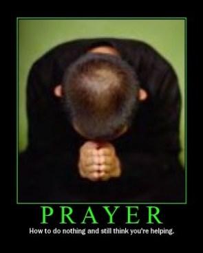 Prayer Motivational Poster