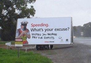 Speeding : What's your excuse?