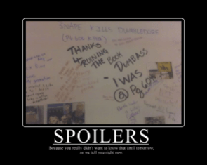 Spoilers Motivational Poster (donot read if you care about harry potter, ok?)