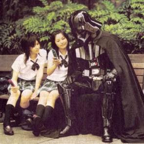 Darth Vader In Japan