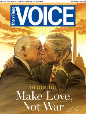 """Village Voice """"Queer Issue"""""""