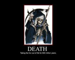 Death Motivational Poster