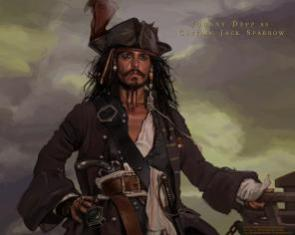 Pirates Of the Caribbean: Dead Man's Chest – Jack Sparrow