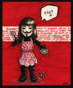 V For Vendetta ::hearts:: Eggs!