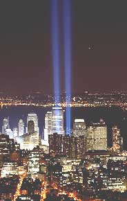 9-11 Tribute Lights