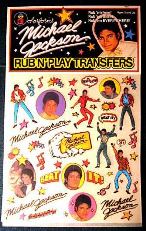 Michael Jackson's Rub N' Play Transfers