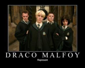 Draco Motivational Poster