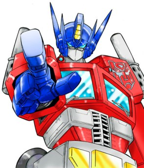Optimus Prime Wants YOU!