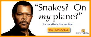 Snakes?  On My Plane?