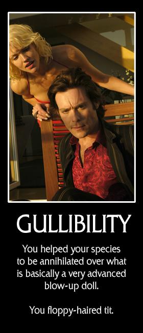 Gullibility Battlestar Galactica Banner