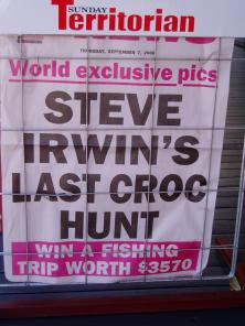 Steve Irwin died – win a fishing holiday