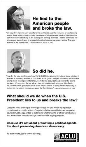 Preserving American Democracy.