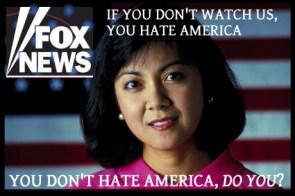 Fox News: Watch it you Commie scum!