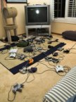 Ultimate Gamer's Living Room