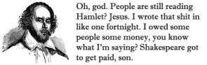 Hamlet Got To Get Paid