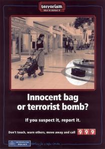 Innocent Bag or TERRORIST BOMB?!?!?!?!?