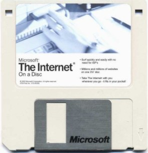 The Internet: On Disk