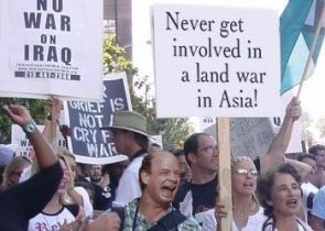 Never Get In A Land War With Asia