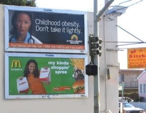 Childhood Obesity Vs McDonalds