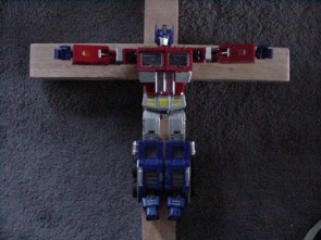 Optimus Prime Died for YOUR sins!