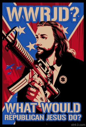 WWRJD? What would republican Jesus do?
