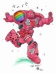Warhammer in Pink