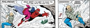 Spider-man is gay!  oh wait….