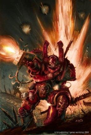 Warhammer 40: Chaos Marine