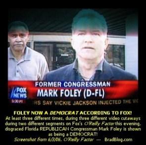 Mark Foley = Gay Republican