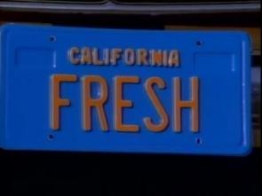 Fresh License Plate
