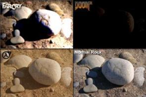 How rocks look in video games