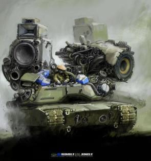 Sound Assault Tank
