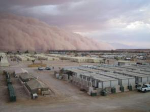 This is a sand storm