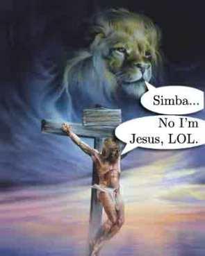 Simba = Jesus = LoL