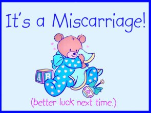 Miscarriage Announcement
