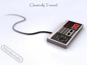 Classically Trained NES Wallpaper