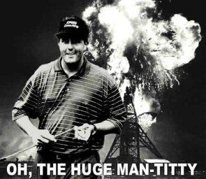 Huge Man….wha?