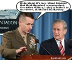 Rumsfeld is incompetent
