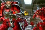 Warhammer Space Marines = StarCraft Firebats?
