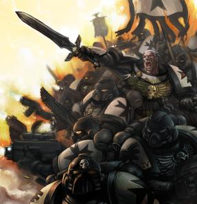 Space Marines Artwork