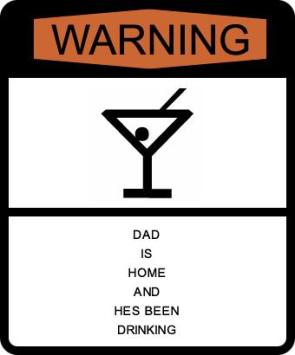 Warning: Dad Is Home